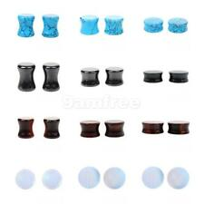 1Pair of Ear Plugs Gauge Expander Flesh Tunnel Stretcher Body Jewelry 5-25mm