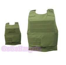 Black Hawk Down Movie Tactical Army Body Armor Plate Carrier Vest Green