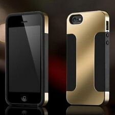 Luxury Hybrid Plated PC+ Soft Silicon 2 Layer Cover Case for iPhone 4 4S 5 5S