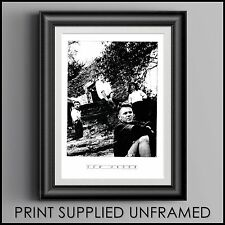 New Order Black & White Promotional Photograph 21cms X 30 cms