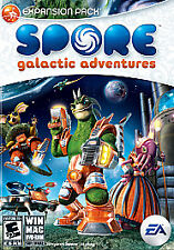 SPORE: GALACTIC ADVENTURES(WINDOWS/MAC, 2009) THIS REQUIRES SPORE TO PLAY!!!!