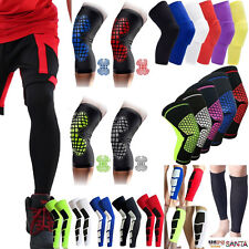 Basketball Leg Guard Knee Support Brace Stretch Calf Sleeve Compression Sleeve A