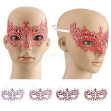 Crystal Rhinestone Laser Cut Venetian Masquerade Eye Mask Fancy Costume Party