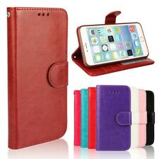 Luxury Leather Cover Magnetic Flip Card Holder Wallet Skin Case For Apple iPhone