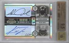 2004 Playoff Contenders RN-5 Kevin Jones Steven Jackson BGS 9.5 Auto Rookie Card
