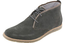 Hush Puppies Men's Roland Jester Dark Grey Suede Ankle Boots Shoes HM01330-021