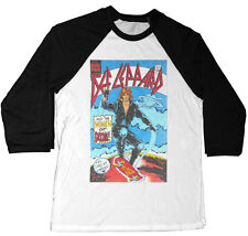 Def Leppard Women Of Doom Rock Concert Raglan T-Shirt - NEW - S M L XL 2XL 3XL