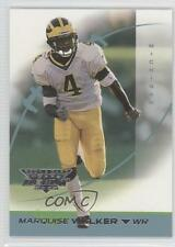 2002 Topps Debut #195 Marquise Walker Michigan Wolverines Rookie Football Card