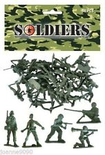 KAS Kids Army Bag Of 50 Toy Soldiers - 2 Inch Military Soldiers