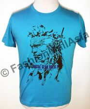Uniqlo x Metal Gear 25th Anniversary T-Shirt Solid Liberty Blue