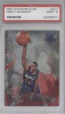1997 Topps Stadium Club #217 Tracy McGrady PSA 9 Toronto Raptors RC Rookie Card