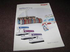 PFAFF Select Line owners Manual Instruction Book MAKE OFFER