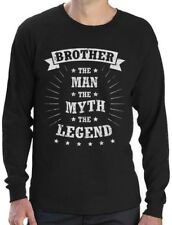 Brother The Man The Myth The Legend Gift for Brother Long Sleeve T-Shirt Sibling