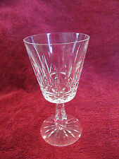 "Waterford Crystal ""Rosslare"" Cut Crystal Water Goblet Glass - Discontinued Ptrn"