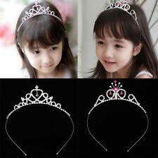 Elegant Crystal Wedding Party Flower Girl Crown Pageant Tiara Headband Jewelry