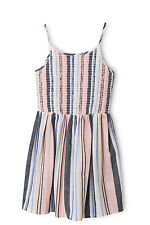 NEW Tilii Shirred Bodice Stripe Dress Assorted