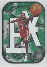 1999-00 Skybox E-X E-Xceptional Green #15XC Lamar Odom Los Angeles Clippers Card