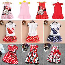 Toddle Baby Infant Clothes Dress Girl Party Outfits Tutu Newborn Romper Vest Top