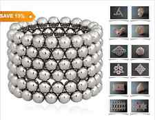 5mm Magnet Balls 64/125/216 Magnetic Balls Puzzle 3D Chic Kids Educational Toy