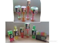 Coloured Neon Plastic Party Goods Various Colours Sizes Great Value!