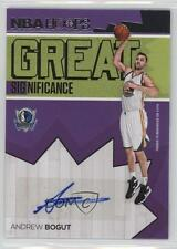 2016 Panini NBA Hoops Great SIGnificance #30 Andrew Bogut Dallas Mavericks Auto