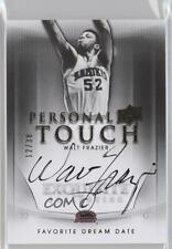 2011 Exquisite Collection #PTD-WF Walt Frazier Auto Autographed Basketball Card