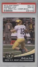 2012 Leaf Draft US Army All-American Bowl 2008 #AL-01 Andrew Luck PSA 10 U.S.