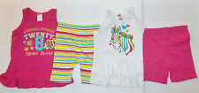 Fisher Price Toddler Girls 2 Piece Summer Outfits Various Styles & Sizes NWT