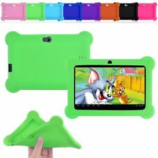 "7"" Silicone Soft Case Cover For 7"" Android A23 / A33 Q88 Y88 Tablet PC Kids"