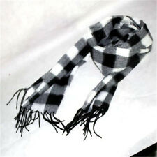 Women's Lady Winter Neck Scarf Warm Long Checked Plaid Wrap Shawl