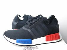 2017 Adidas NMD_R1 PK OG Core Black Lush Red S79168 sz 6 - 12 Primeknit NMD Pink