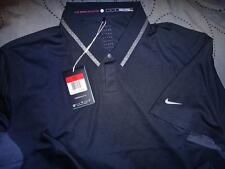 NIKE TIGER WOODS COLLECTION GOLF DRI-FIT POLO SHIRT XL M  MEN NWT $95.00