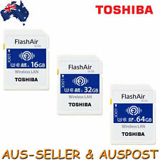 Toshiba 32GB FlashAir SDHC SD Wireless LAN WLAN Class 10 Memory Card WiFi W 03 4
