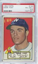 1952 Topps #123 Eddie Yost PSA 4.5 Washington Senators Baseball Card