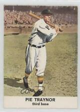 1961 Golden Press Hall of Fame #15 Pie Traynor Pittsburgh Pirates Baseball Card