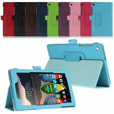 Flip Leather Folio Stand Case Cover For Lenovo Tab 3 Essential 7.0 7-Inch Tablet