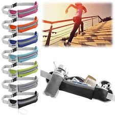 Sport Hiking Running Belt Waist Pouch Fanny Pack Camping Zip Bag Bottle Holder