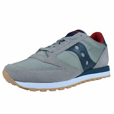 SAUCONY JAZZ ORIGINAL RETRO RUNNING SNEAKERS GREY DARK BLUE S2044-320
