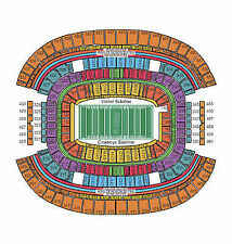 2 - 2017 Dallas Cowboys Season Tickets - Section 102 Row 8 - LOWER LEVEL SEATS !