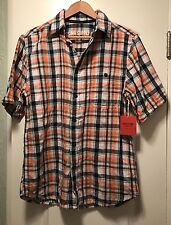 Men's Mossimo Supply Co Melonade Short Sleeve Button Up Shirt Size S