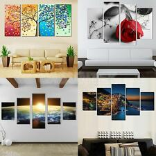 Variuos Scenery Panels Canvas Painting Wall Hanging Art Picture Unframed