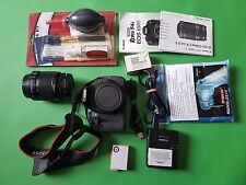 Canon EOS Rebel T4i / EOS 650D 18.0 MP Digital SLR Camera - Black with 18-55 len