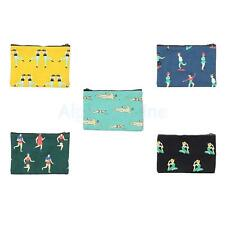 Stylish Clutch Envelope Bags Cute Canvas Coin Purse Phone Bags Purse Wallet