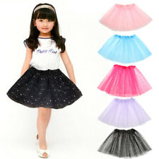 Kids Girls Ballet Dancewear Tulle Tutu Pettiskirt Princess Skirt For 2-7Y Baby