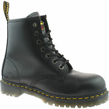 MENS DR MARTENS SAFETY WORK BOOTS SIZE UK 3 - 13 STEEL TOE CAP ICON 7B10 KD