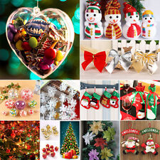 Christmas Socks Snowflakes Ornaments Festival Party New Year Hanging Decorations