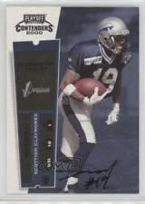 2000 Playoff Contenders #185 Deon Mitchell Scottish Claymores (NFL Europe) Auto