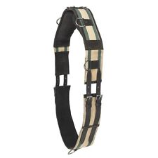 Camelot Web & Leather Training Surcingle - Brown - Size: Pony or Horse