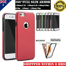 360 Full SHOCK PROOF Heavy Duty Hybrid Slim ARMOR Case Cover iPhone 6 6S 7 Plus