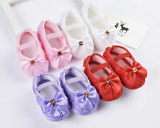 Toddler Sandal Baby girls Walking Shoes Infants Bowknot Prewalker Soft Sole